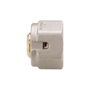 Monoblocco Connector For Multi-Layer Pipes, Nickel-Plated